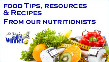 Season 11 nutrition tips recipes from our dietitians fort each week registered dietitian christy bahan rd ld will share nutrition information tips and recipes here throughout the season forumfinder Images